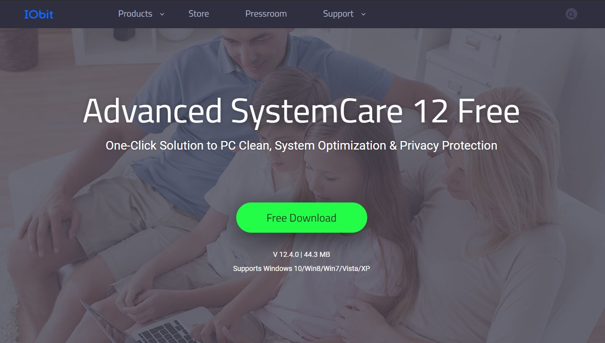 IObit Advanced SystemCare 1 best free pc optimizer